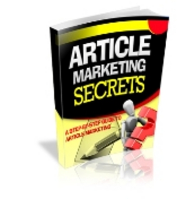 Product picture Article Marketing Secrets